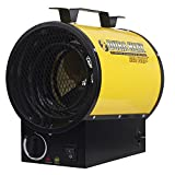 Dura Heat EUH4000 4000W Electric Forced Air Heater, Length: 10.75in, Width: 8.35in, Height: 13in