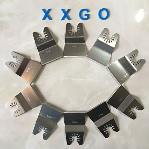 xxgo-20pcs-2-inch-quick-release-rigid-stainless-steel-oscillating-multi-tool-scraper-blade-for-paint