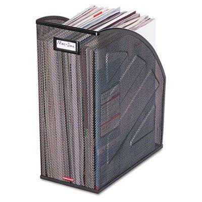 (ROL62560 - Rolodex Nestable Rolled Mesh Steel Jumbo Magazine File)