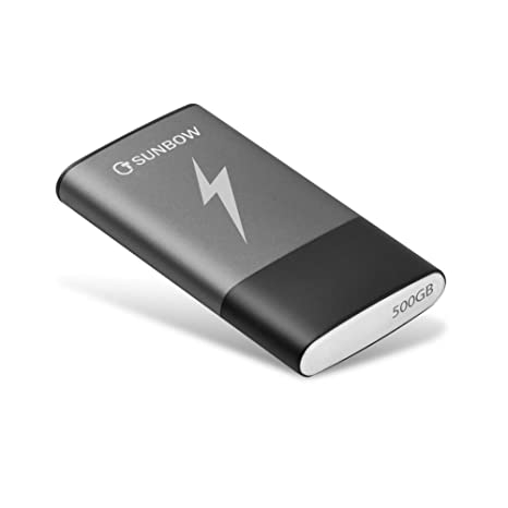 TCSUNBOW - Unidad de Estado sólido Externa portátil SSD de 500 GB ...