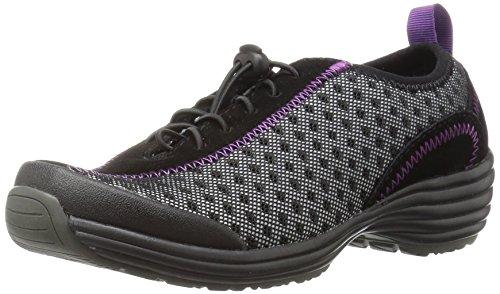 Sanita Womens O2 Lite-Tide Walking Shoe Black