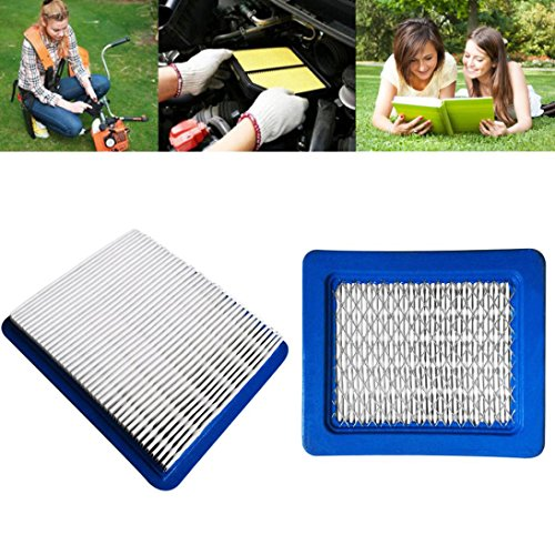Price comparison product image Air Filters For Briggs & Stratton 491588 491588S 5043 5043D 399959 119-1909 GOTD (Blue)
