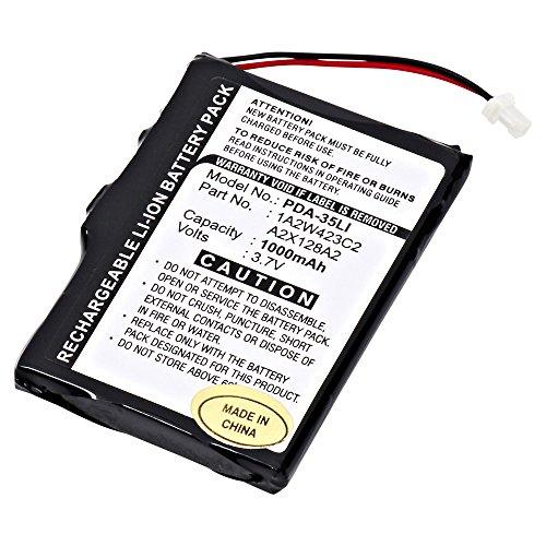 GPS, PDA Dantona PDA-35LI Lithium, Lithium Ion (ICR/CGR/LIR) Battery 3.7 Volts by Dantona