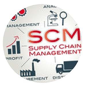 alfombrilla de ratón gestión de la cadena de suministro de SCM - ronda - 20cm