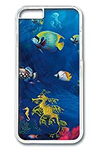 iphone 6 4.7inch Case and Cover Underwater Life PC case Cover for iphone 6 4.7inch transparent