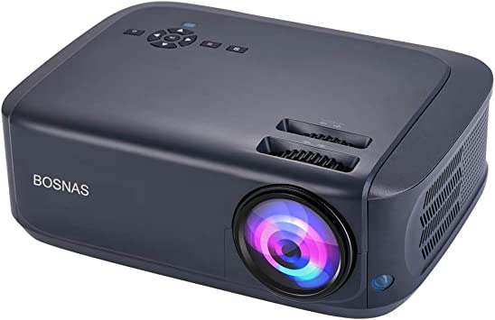 Bosnas Leisure Proyector con 3800 lúmenes Full HD 1080p y 200 ...