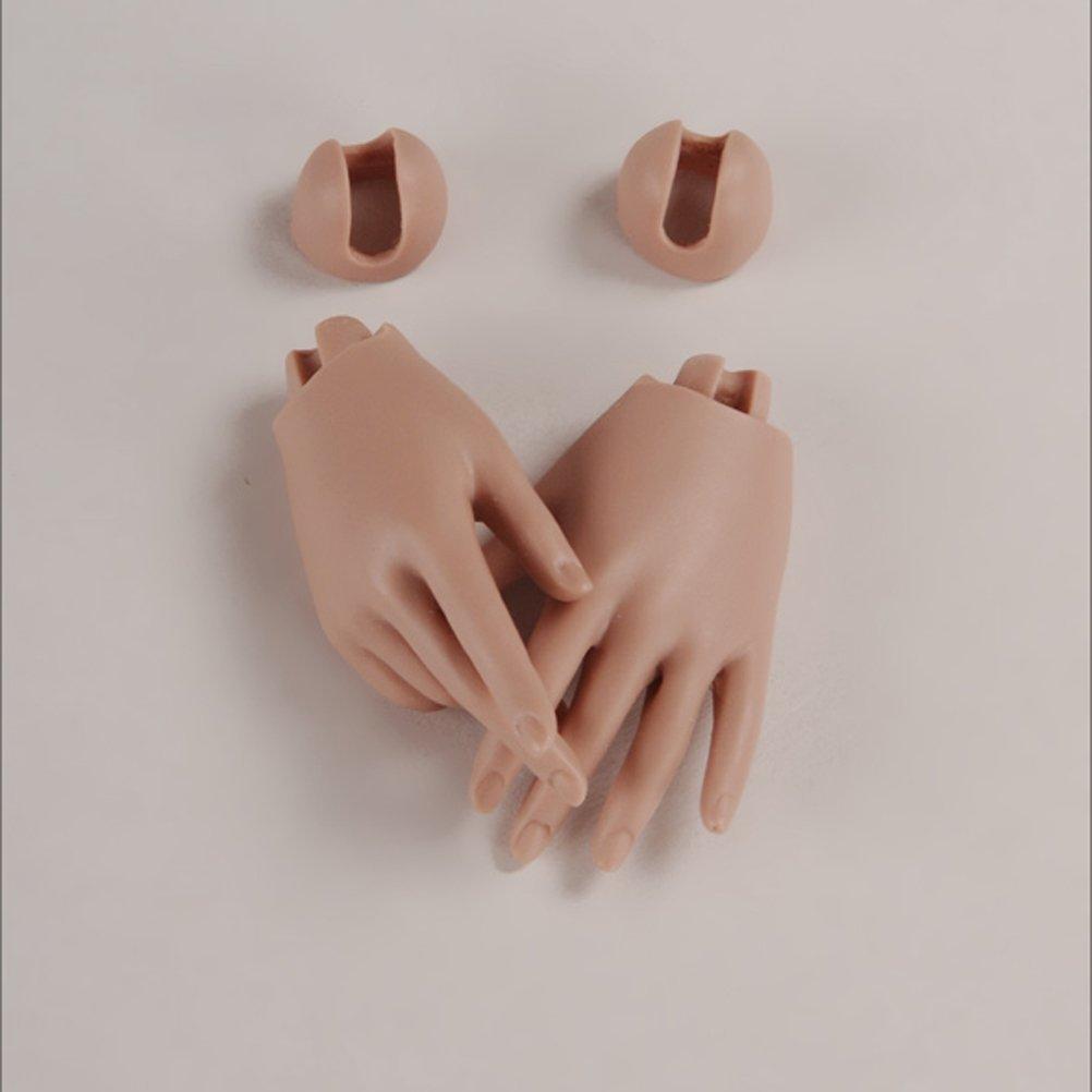 Dollmore Model Doll Woman Hand Basic Hand Suntan - Long nail