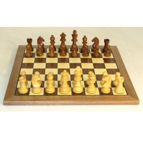 German Knight Chess Set - Sheesham by World Wise