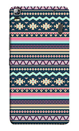 Oye Stuff Aztec Printed Designer Slim Hard Back Cover Case for Lenovo K3 Note