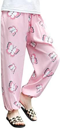 Niños Niñas Harem Pantalones del Verano Bloomers Holgados Impresión
