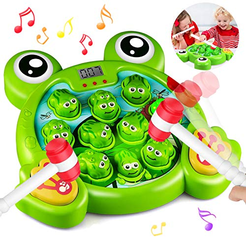 HOMOFY Interactive Whack A Frog Game, Learning, Active, Early Educational...