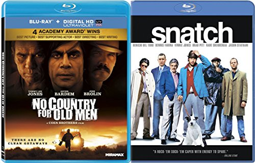 Snatch & No Country For Old Men [Blu-ray] Bundle Double feature Set
