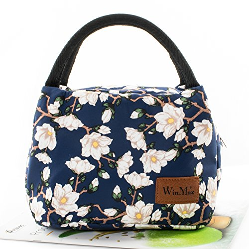 f51982ea6593 Lunch Bag Cute Lunch Box for Women Insulated Lunch Tote Bag for Kids  Travel/Work/School To-Go Food Containers Waterproof and No Leak
