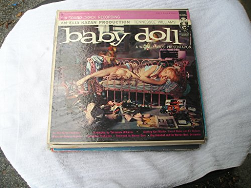 BABY DOLL - vinyl lp. A SOUND TRACK RECORDING - AN ELIA KAZAN PRODUCTION