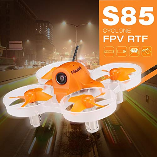Wikiwand Mirarobot S85 5.8G 25mW 600TVL Camera Tiny Micro Indoor FPV RC Racing Drone by Wikiwand (Image #6)