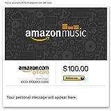 Amazon eGift Card - Amazon Music (Notes)
