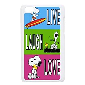 Custom High Quality WUCHAOGUI Phone case Cute & Lovely Snoopy Protective Case FOR IPod Touch 4th - Case-6