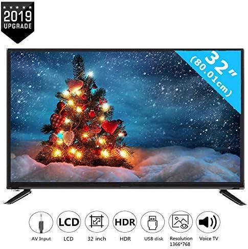 Televisor inteligente LCD HD de 32 pulgadas con entrada RCA de cable HDMI, TV 2K multifuncional en línea Edición, Tecnología de procesamiento de reducción de ruido de imagen adoptada Televisor(UE): Amazon.es: Electrónica