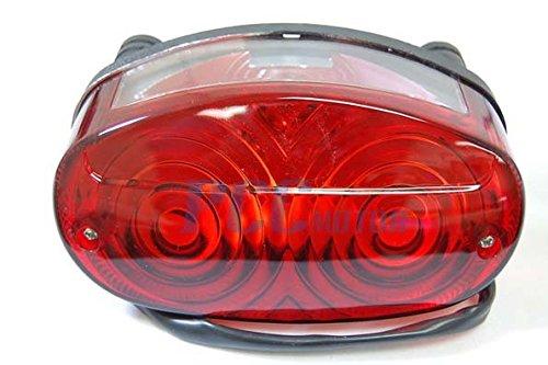 9Z YAMAHA YFZ450 RAPTOR 350/660/660R REAR BRAKE TAIL LIGHT ASSEMBLY LT22 ()