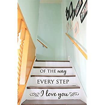 Stair Decal   Staircase Ideas   Stairway Ideas   Stairs Quotes   Stair  Riser Decals