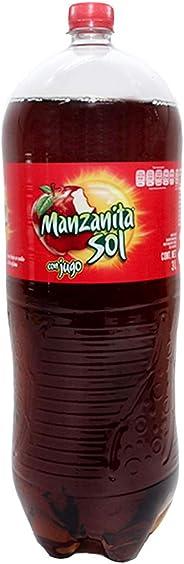 Manzanita Sol Refresco Jugo, 3 litros