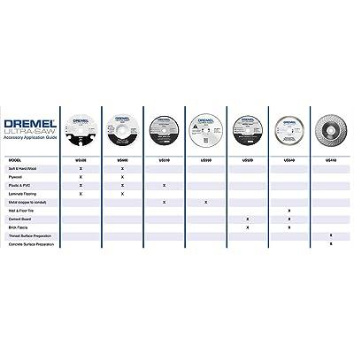 New Dremel US410-01 Ultra-Saw 4-Inch Diamond Surface Prep Abrasive Wheel Tile