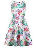 #4: Liliane Girls Sleeveless Dress, One Piece Swimsuit