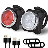 Balhvit Bike Light Set, Super Bright USB...