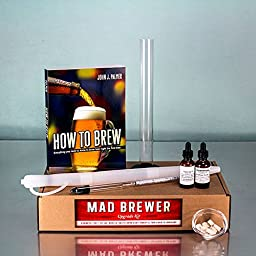 Raise Your Game Mad Brewer Upgrade Assembly - Testing and Fermentation Kit for Advanced Home Brewing