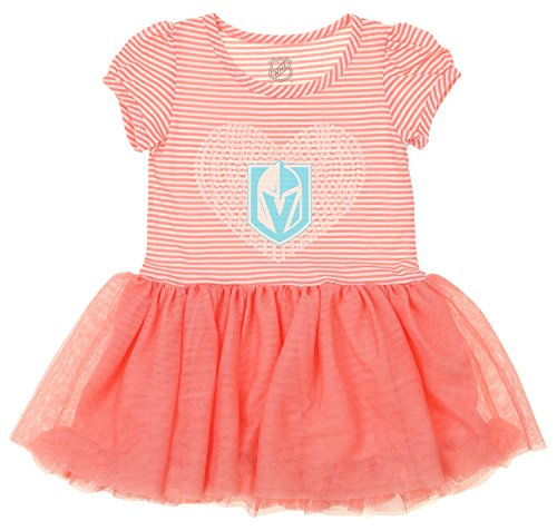 fan products of OuterStuff NHL Little Girl's Toddlers Celebration Tutu, Las Vegas Golden Knights Small (4)
