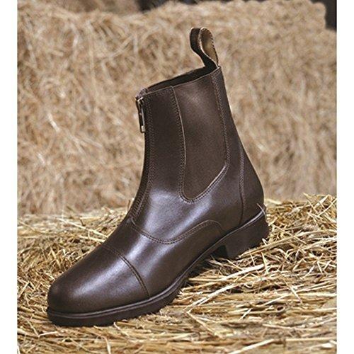 Zip Toddy Black Boots Todd Mark Adults Jodhpur SUtq1qw
