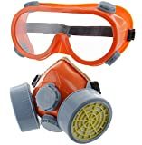 Best Construction Respirators - Ram-Pro Twin Cartridge Respirator with Safety Goggles Review