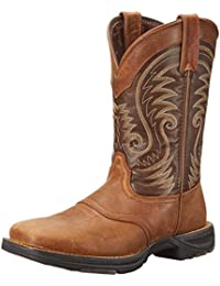 Mens western boots amazon mens ddb0110 western boot reheart Image collections