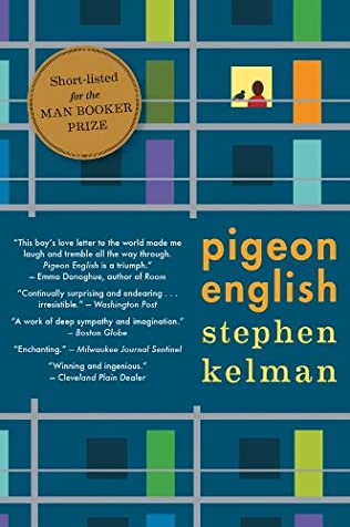 book cover of Pigeon English