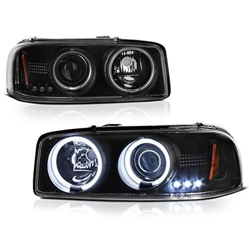 05 gmc sierra halo headlights - 4