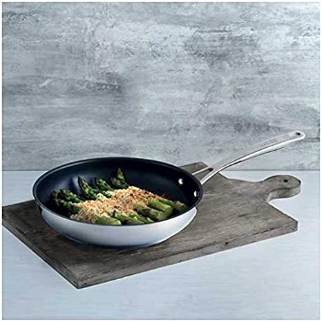 Kuhn Rikon 12 inch Allround Frying PAN Large Black and Silver