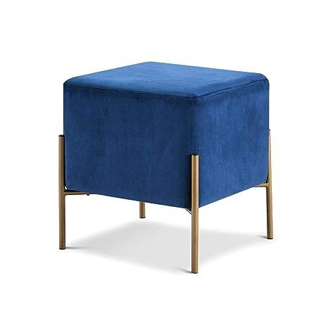 Peachy Amazon Com Monthyue Square Footstool Ottoman Living Room Machost Co Dining Chair Design Ideas Machostcouk