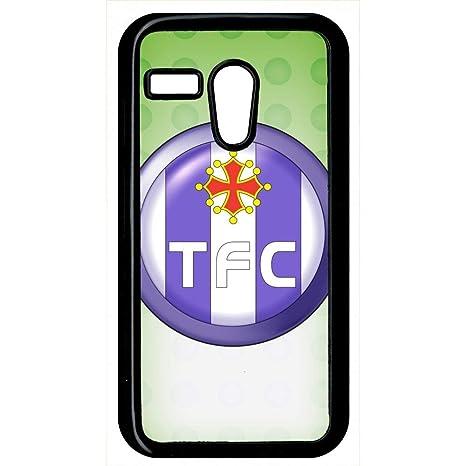 Carcasa Motorola Moto G Escudo Club FC Toulouse: Amazon.es ...