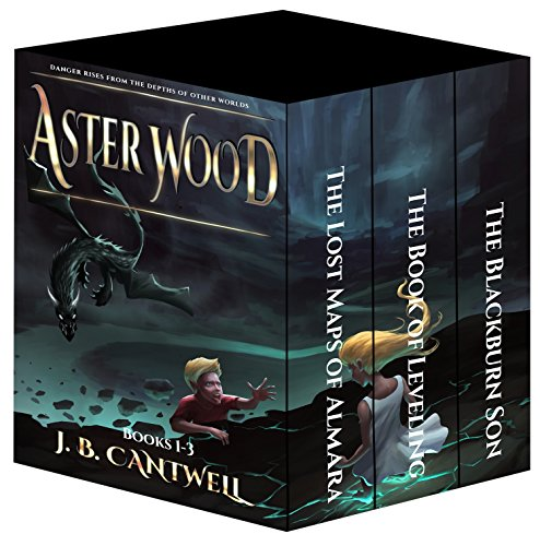 Aster Wood: Epic Fantasy Bundle (Books 1-3): The Lost Maps of Almara, The Book of Leveling, The Blackburn (Aster Wood)