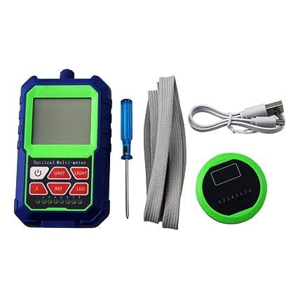 Diuspeed Medidor de Potencia óptica, Detector de Cable de Red de Medida de medidor de