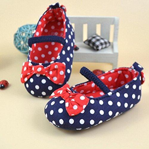 Saingace® nouveau-né fille garçon doux semelle chaussures crèche bébé toile sneaker (11)