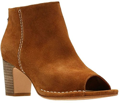 Spiced Boot Womens Clarks Melody Suede Tan Tz5tnYW