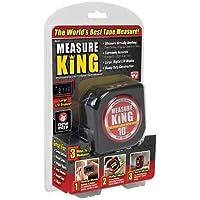MEASURT KING 3 in 1 Measuring tape Roller rule, As seen on TV The Best Measuring Tape Black
