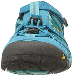 KEEN Seacamp II CNX Sandal (Toddler/Little Kid/Big Kid), BALTIC/CARIBBEAN SEA, 11 M US Little Kid