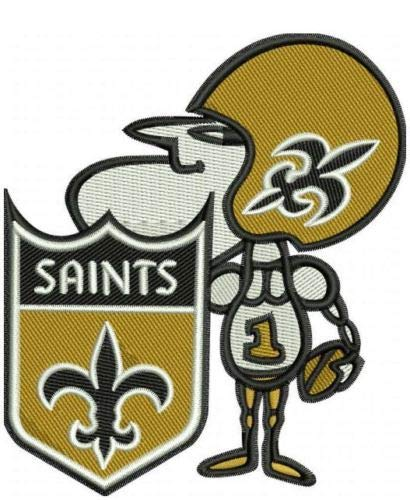 - Football Saints SIR Saint Patch Embroidered Super Bowl Gumbo Soon!! NFL Brees