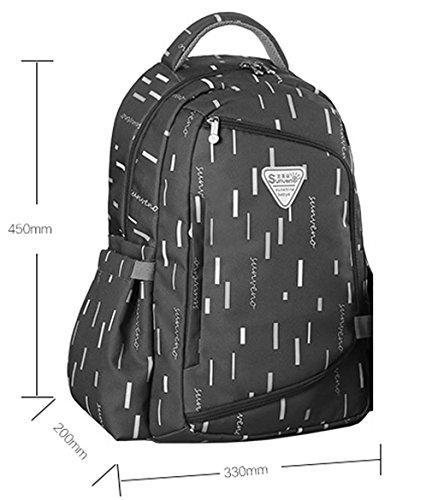 Mommy Bag Multifuncional De Alta Capacidad Hombros Madre Paquete Madre-bebé Bolsa Moda Mamá Bolso Hasta Mochila ( Color : Gris ) Gris
