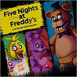 Five Nights at Freddys Official 2018 Calendar - Square Wall Format: 9781785495281: Amazon.com: Books