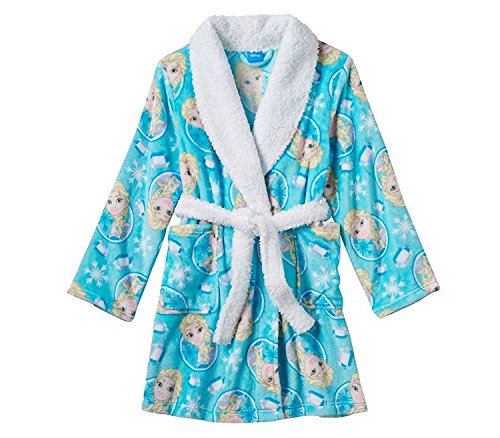 Disney Frozen Bathrobe Sherpa Collar