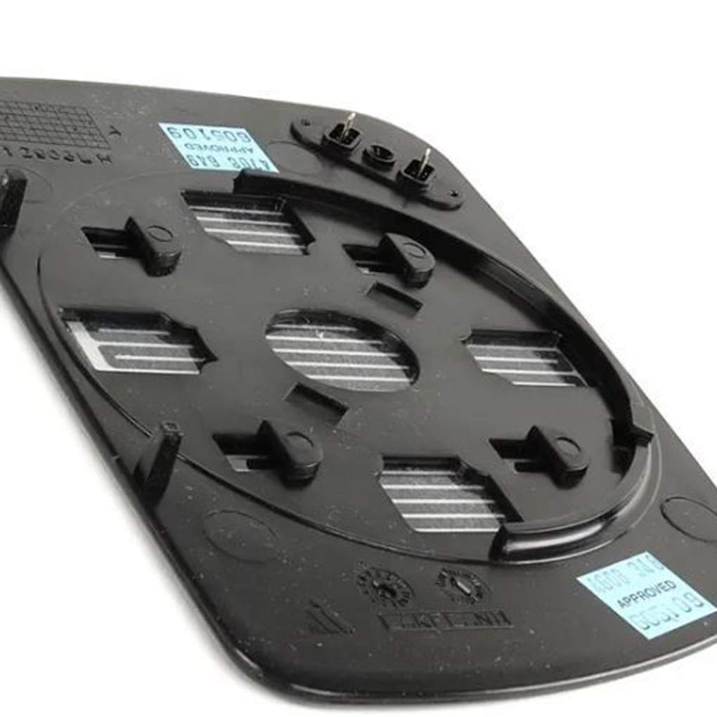 Reemplazo para BMW X5 E53 99-06 del Lado Derecho del Pasajero Exteriores con calefacci/ón del Espejo retrovisor Espejo retrovisor de Cristal 51168408810
