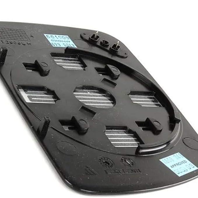Elenxs Side Left Outside reemplazo Calefacci/ón Espejo retrovisor de Cristal para BMW X5 E53 99 06